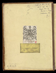 Marks Of Ownership Of The Mostyn Family, In 'The Thorney Gospels'